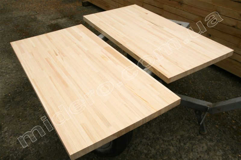 стільниця із меблевого щита